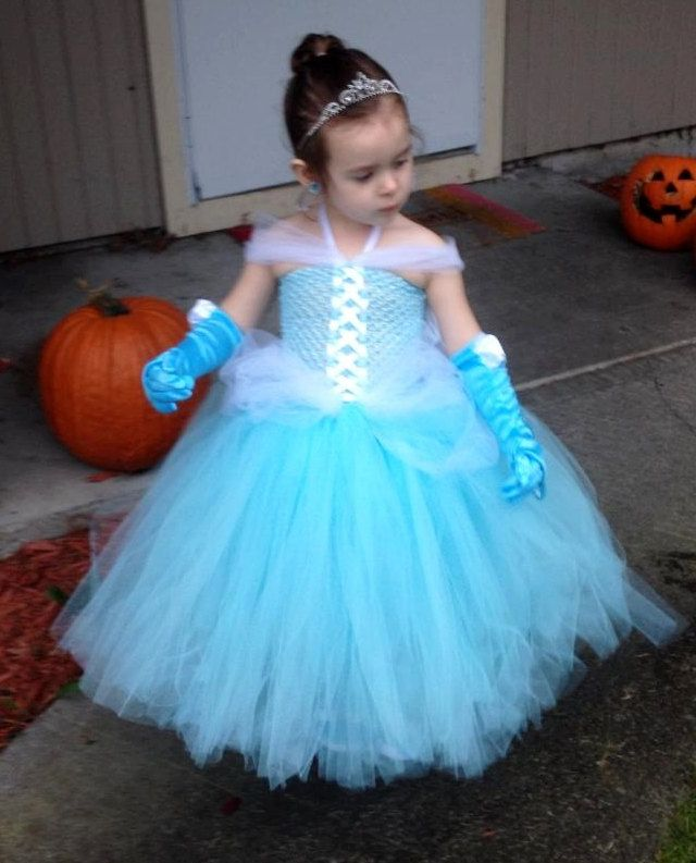 Infant Toddler girls princess Cinderella by TutuCuteCustomMade, $45.00