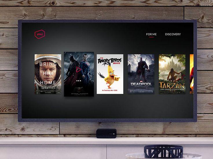 TV UI by Pascal Potvin