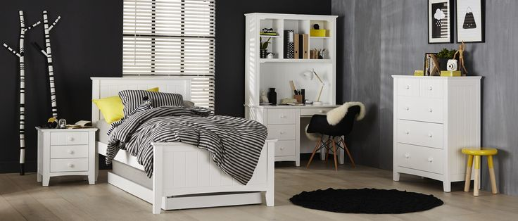 Forty Winks Noah+Bedroom+Furniture Bed = trundle $698