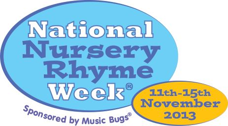National Nursery Rhyme Week - Music Bugs activity classes for toddlers and preschoolers