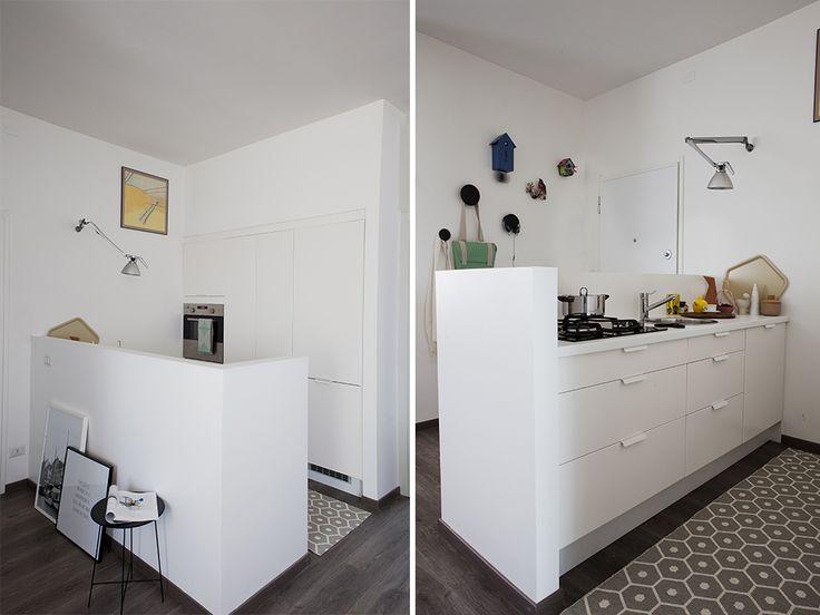 Oltre 1000 idee su soggiorno open space su pinterest - Muretto divisorio cucina soggiorno ...