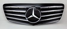 Nice Mercedes: Mercedes E Class W211 07-09 5 Fin Front Hood Sport Black Chrome Grill Grille  (F...  MY C 300 Check more at http://24car.top/2017/2017/04/22/mercedes-mercedes-e-class-w211-07-09-5-fin-front-hood-sport-black-chrome-grill-grille-f-my-c-300/