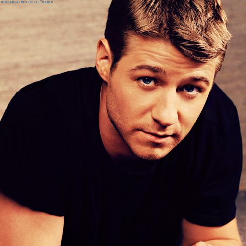 Benjamin McKenzie  @Mackenzie Robinson if you marry him your name will be mackenzie McKenzie...... id consider it