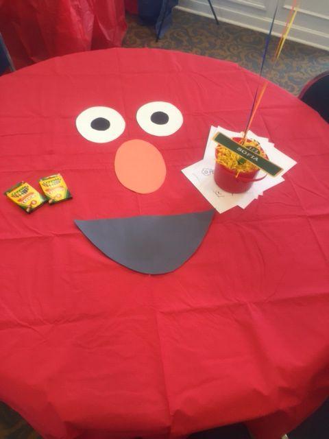 Elmo's world birthday party for Sofia