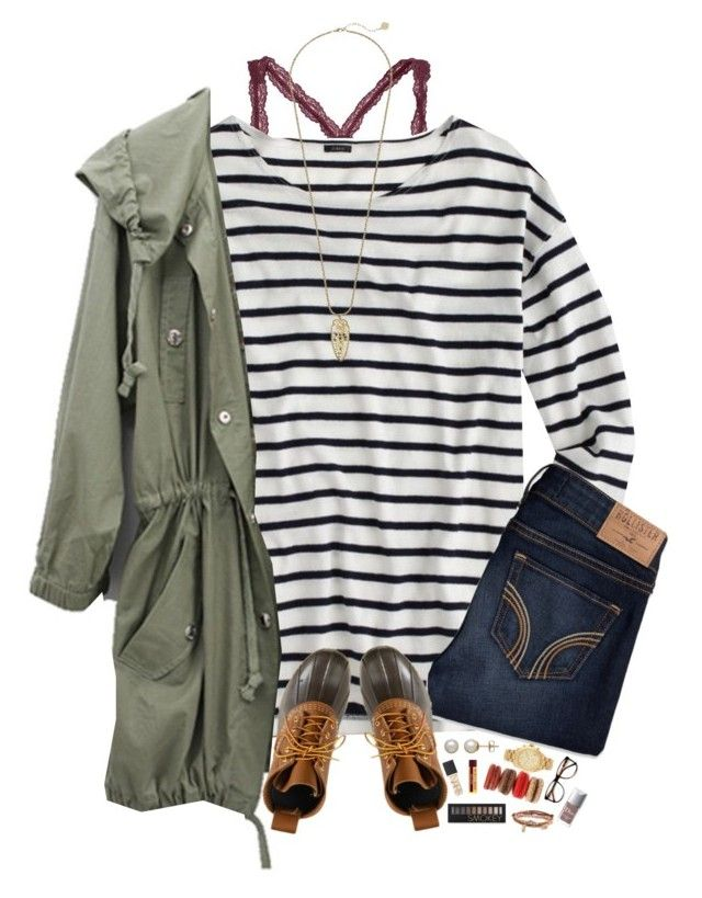 """RTD!!"" by kat-attack ❤ liked on Polyvore featuring J.Crew, Hollister Co., L.L.Bean, Honora, Michael Kors, NARS Cosmetics, Forever 21, Aéropostale, ZeroUV and Christian Dior"