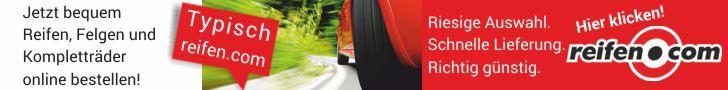 Markenreifen, Felgen und Kompletträder bis zu 25% günstiger bei reifen.com!
