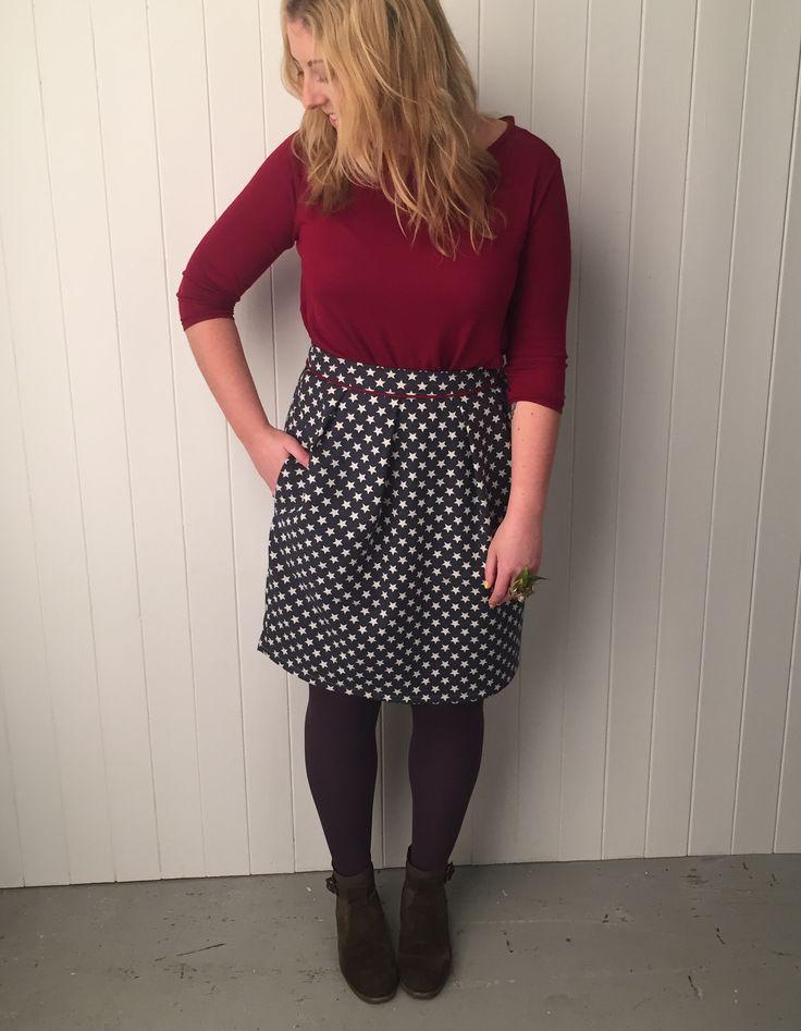 Tulip Skirt Pattern Fiori Idea Immagine
