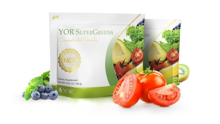 YOR Health Products | YOR SuperGreens