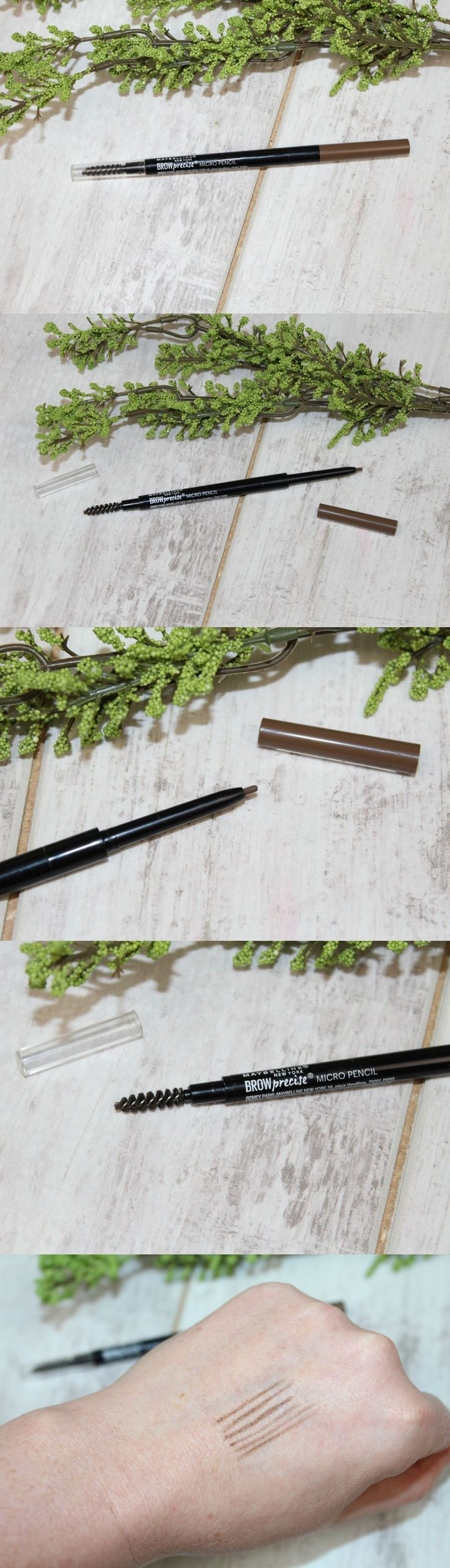 Maybelline Brow Precise Micro Pencil Review & Photos