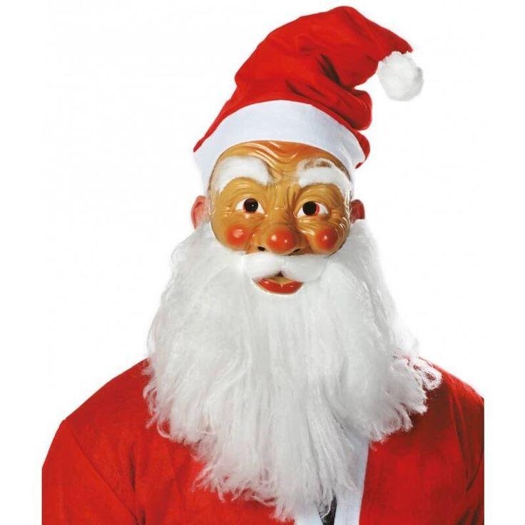 Weihnachtsmann Maske