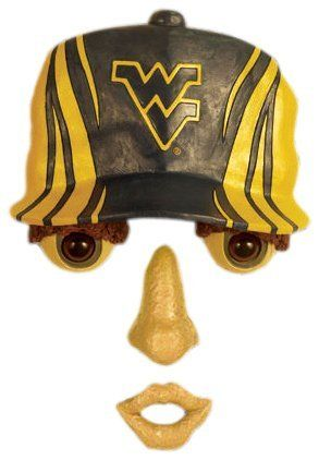 West Virginia Mountaineer Forest Face by Team Sports America. $19.95. Original way to show your friends and neighbors how much you love your favorite team. Bring your trees to life with these offically licensed forest faces. The weather resistant resin face features a cap that is adorned with the official team logo. Decorate your favorite tree with team spirit by showcasing this officially licensed team forest face. Made of 100% resin. NCAA West Virginia Mountainee...