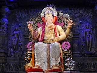Ganesh Chaturthi, the great Ganesha festival also known as 'Vinayak Chaturthi' or 'Vinayaka Chavithi'. The Ganesh Chaturthi is Falls on the 18th Sept, 2012. It is celebrated by Hindus around the world as the birthday of Lord Ganesha and also celebrated with immense enthusiasm in Maharashtra and Andhra Pradesh for ten days. Lalbaugcha Raja in Mumbai's most popular and famous Ganesha pandal. There are thounds of devotees are visited during Ganesh Chaturthi festival.