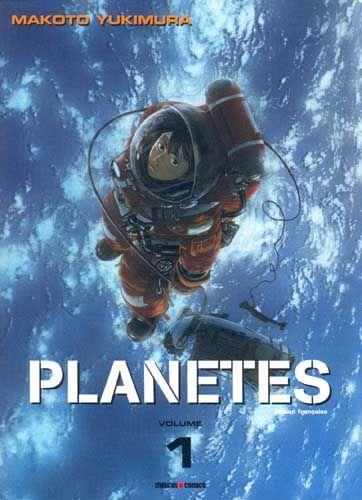 """""""Hachimaki est récupérateur de débris spatiaux sur le Toy Box. Et il n'a qu'une obsession : embarquer sur un des vaisseaux explorateurs de Jupiter. Mais l'espace n'est pas toujours le monde idyllique que l'on imagine... Makoto Yukimura nous fait partager sa passion de l'infiniment grand à travers le parcours initiatique de ses apprentis astronautes partis pour un monde inconnu où il est souvent difficile pour l'homme de trouver sa place"""". Seinen. 1 tome disponible."""