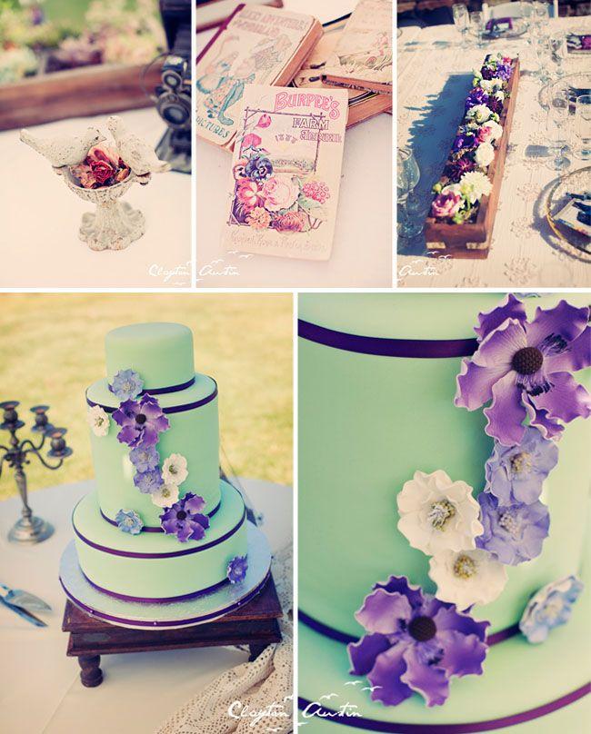 Seafoam Green Wedding Ideas: Seafoam Green And Purple!!