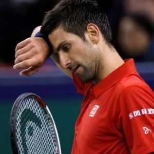 Novak Djokovic tombe contre Roberto Bautista Agut à shangai