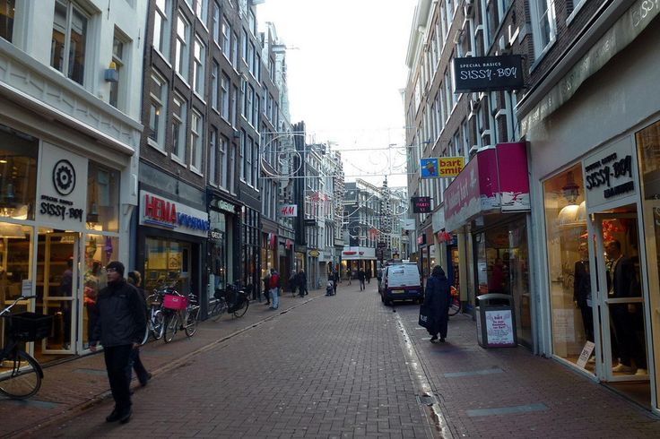 Kalverstraat -shopping street