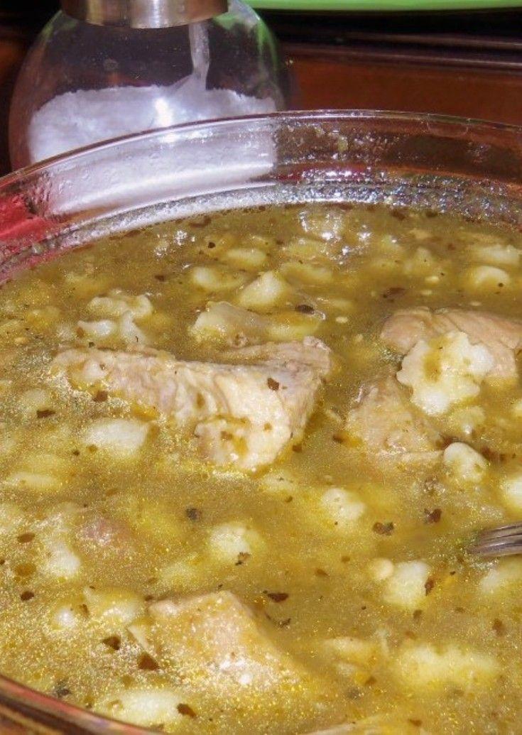 Chile Verde Pork Pozole