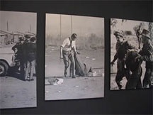 The Apartheid Museum , the first of its kind, illustrates the rise and fall of apartheid.