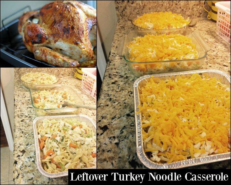 Leftover Turkey Noodle Casserole - Aunt Bee's Recipes
