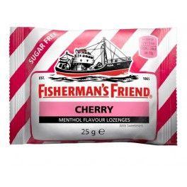 Fishermans Friend sans sucre saveur Cerise - 25 Gr