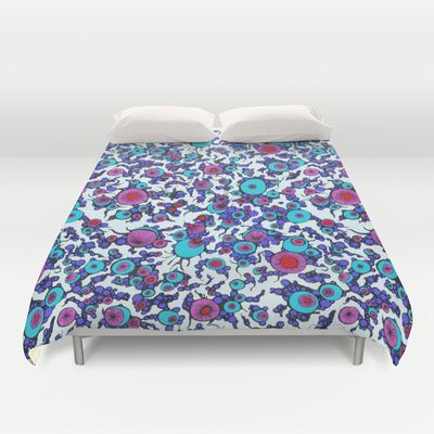 From the Depths 02 Duvet Cover by Call Me Chartreuse - $99.00