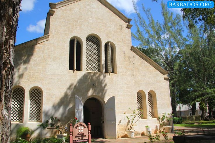 Historic St. James Parish Church in Barbados, one of the oldest on the island.