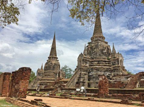 Wat Phra Si Sanpet  #Ayutthaya Cabiria Magni