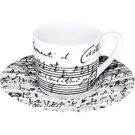 Espresso Coffee Cantata Cup & Saucer