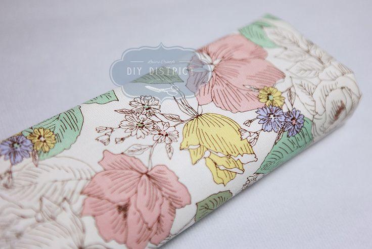 Tessuto liberty - Tessuto giapponese moderno. - un prodotto unico di DIY-District su DaWanda