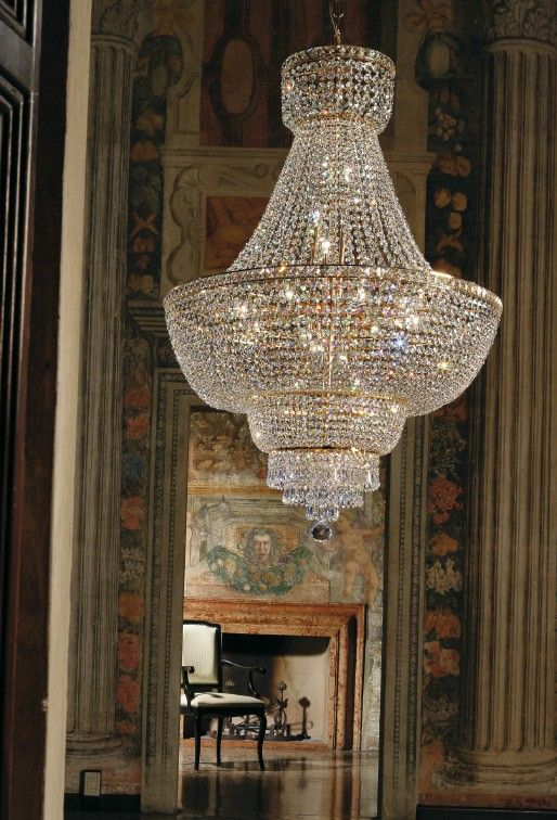 #Beethoven #Impero chandelier by #Voltolina