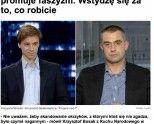 Gawkowski do Bosaka: Pan promuje faszyzm. Wstydzę się za was!   http://sld.org.pl/aktualnosci/7429-gawkowski_do_bosaka_pan_promuje_faszyzm_wstydze_sie_za_was.html