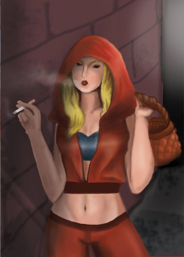 Red from The little red riding hood ( the  main character)