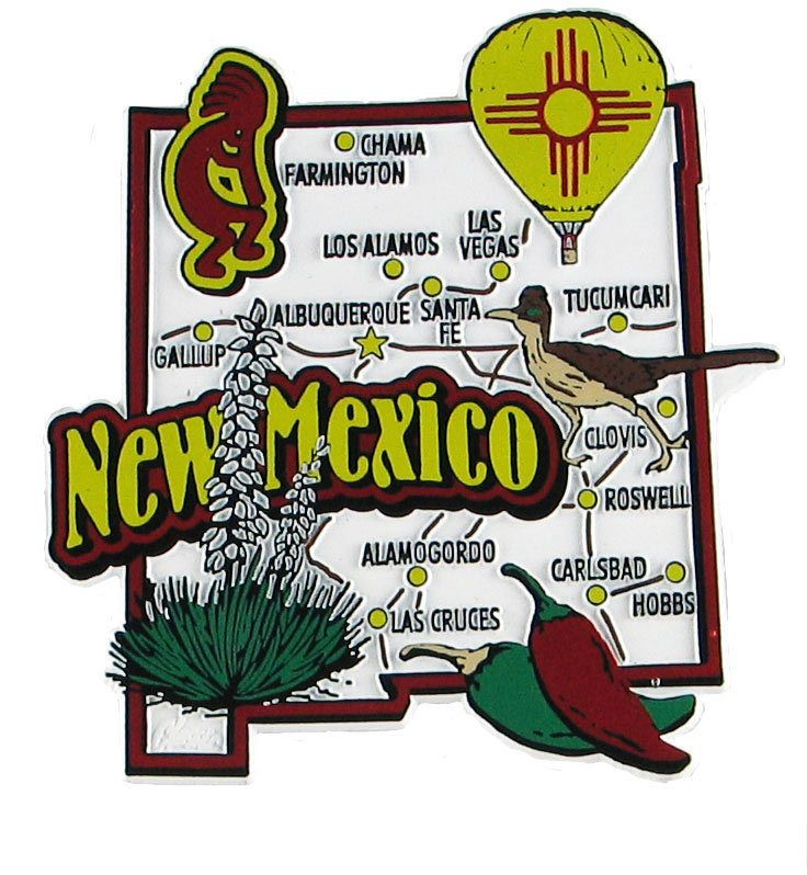 Best New Mexico Map Ideas On Pinterest New Mexico Road Trip - Map of usa new mexico