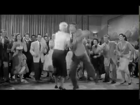 Rock'n'roll dance (1956) - Rockabilly and Lindy hop (HQ)