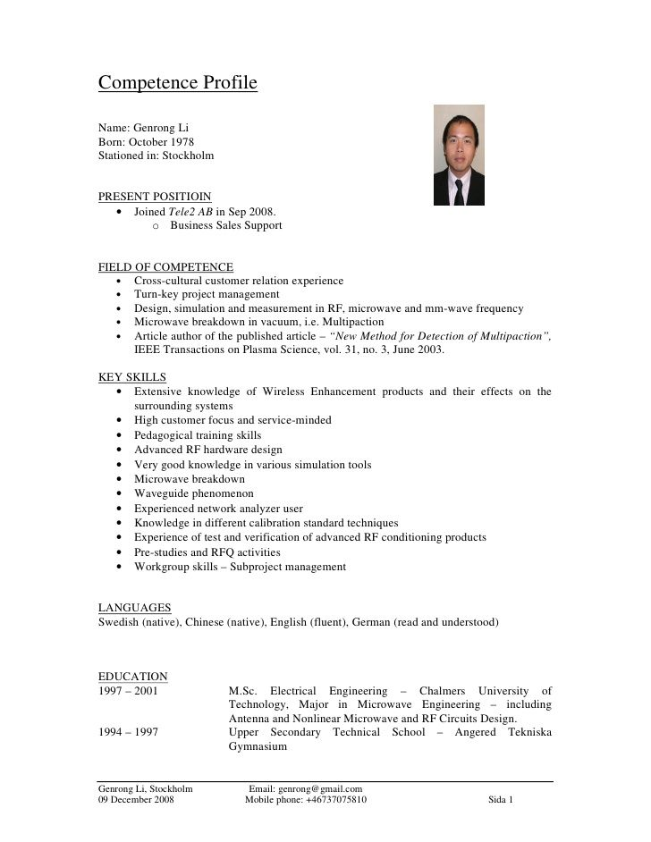 8 best Miten kerrot ydinosaamiset images on Pinterest Sample - rf systems engineer sample resume