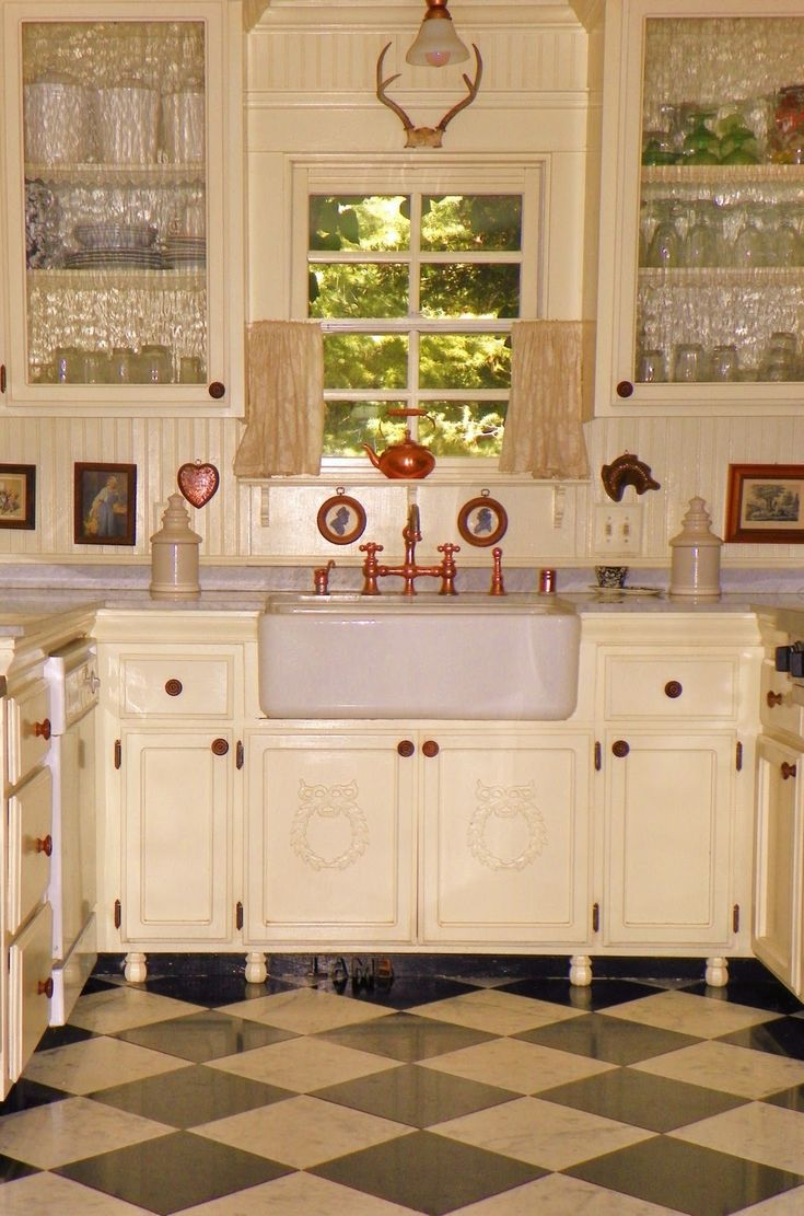 Farmhouse Kitchen Cabinets With Cream Part 86