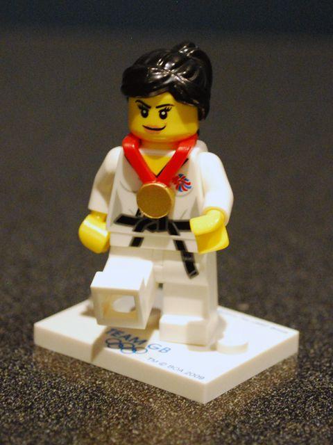 Olympics Lego judo #LEGO Lego