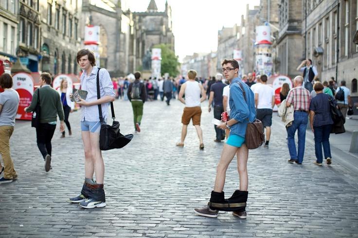 They Are Wearing: The Edinburgh International Festival.. wtf!