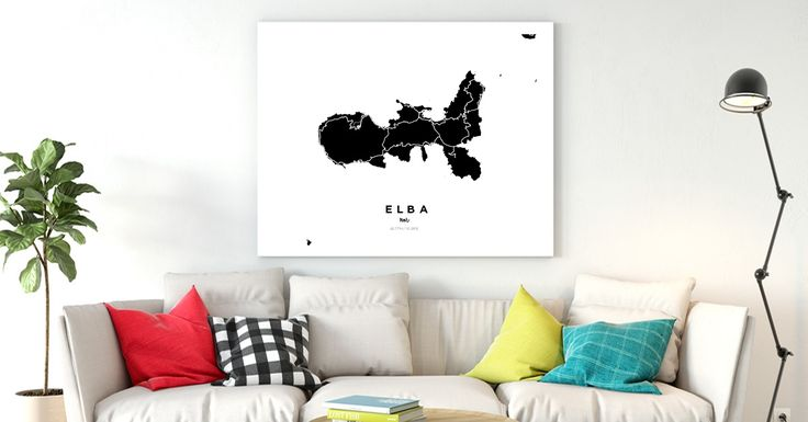 Elba | Custom Map Maker – Make Your Own Map Poster Online - YourOwnMaps