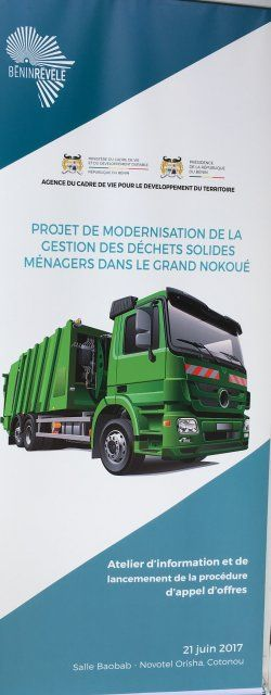 L'Appel d'offre du projet de modernisation du système de gestion des déchets (...) - 24 Heures au Bénin