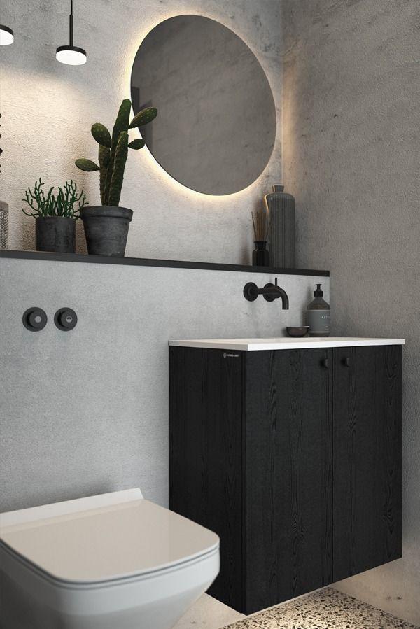 Dansani You Black Bathroom Mirrors Backlit Mirror Round Mirror Bathroom