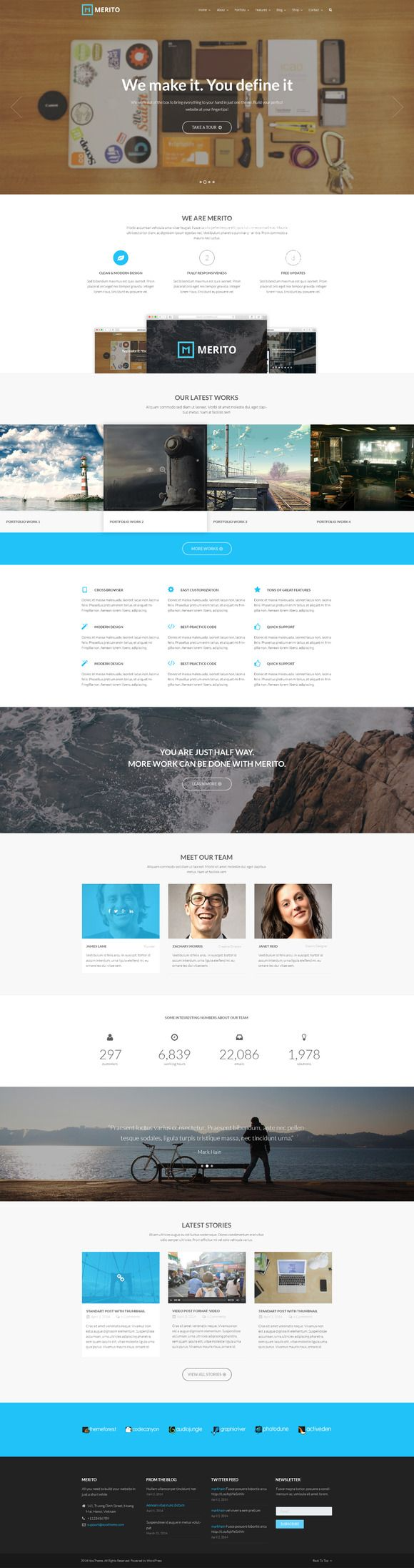 Merito -Multipurpose Joomla Template by JoomlaUX on @creativemarket
