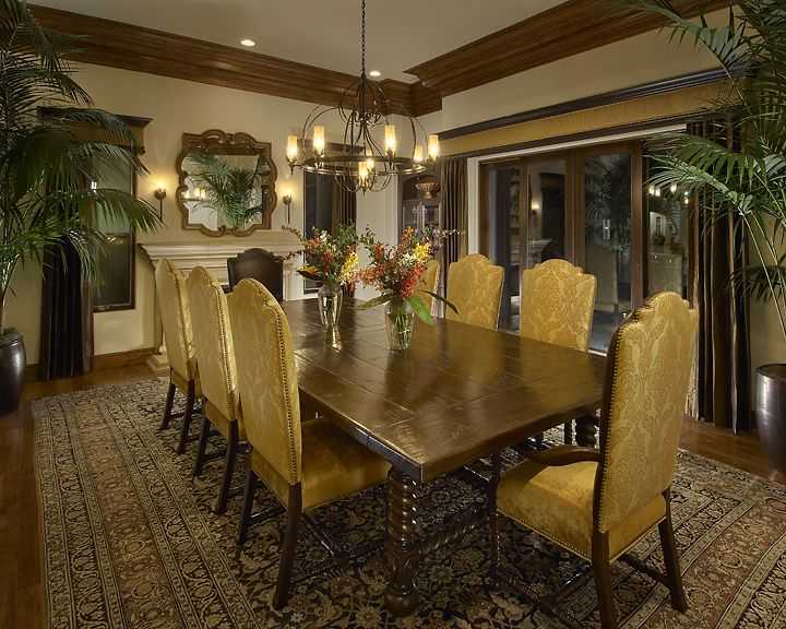 21 Best Grand Dining Rooms Images On Pinterest