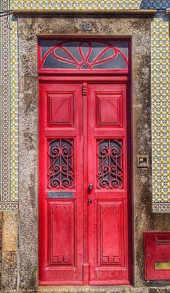 Porta Vermelho Cardinal