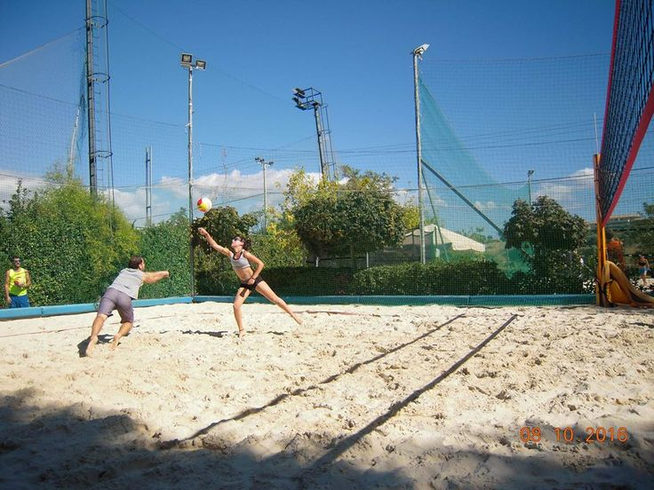 mixed beach volley
