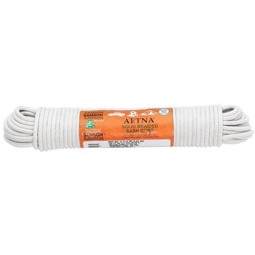 Samson Rope 14 Inch Cotton Sash Cord Rope - http://www.ropeseller.com/samson-rope-14-inch-cotton-sash-cord-rope/