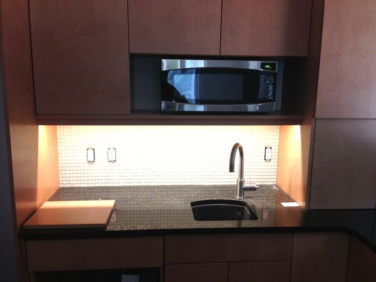 Sketch of Space Saver Microwave for Compact and Functional Kitchen Ideas