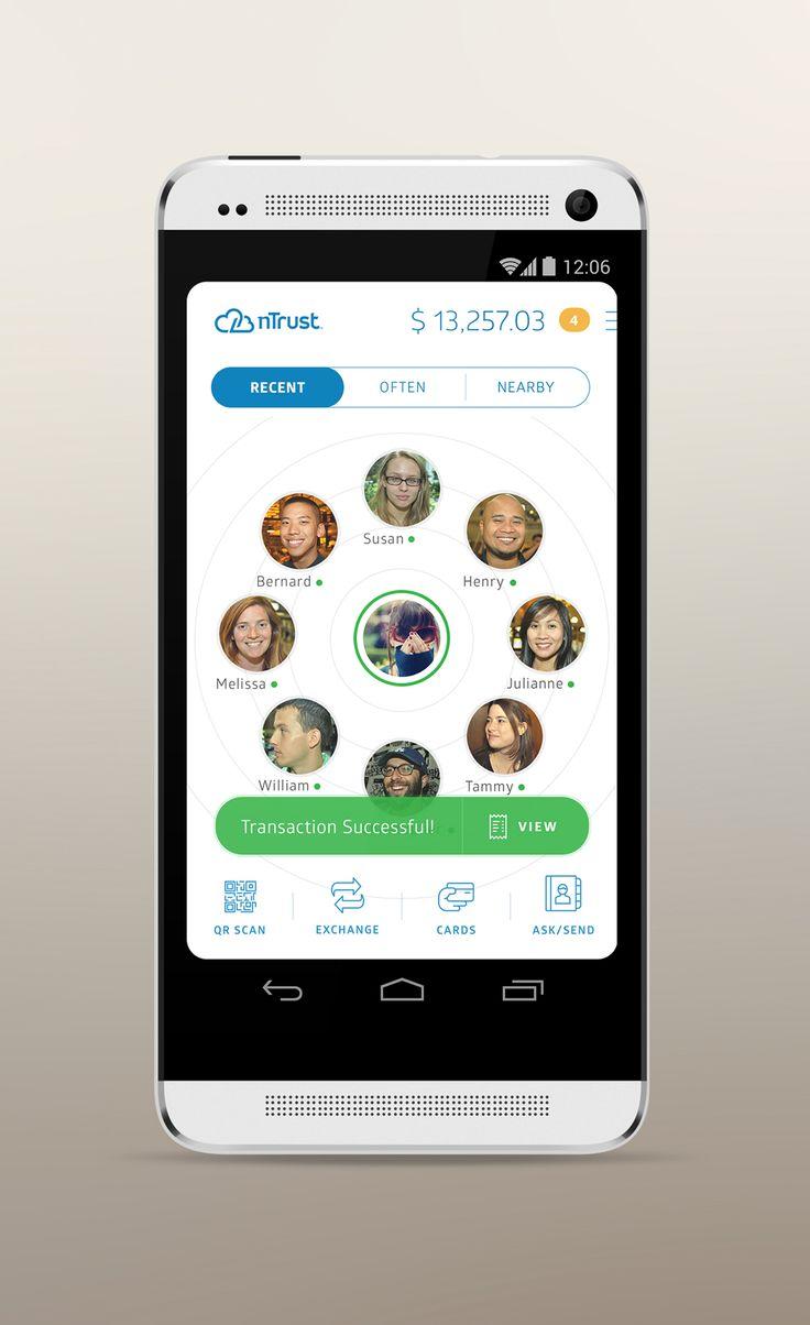 nTrust - Hub Screen