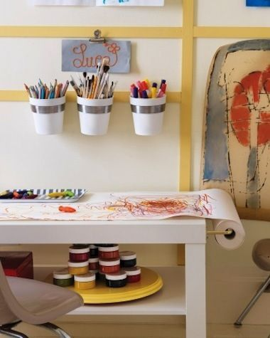 6 Beautiful Ways to Carve Out Creative Spaces for the Kids | The Stir