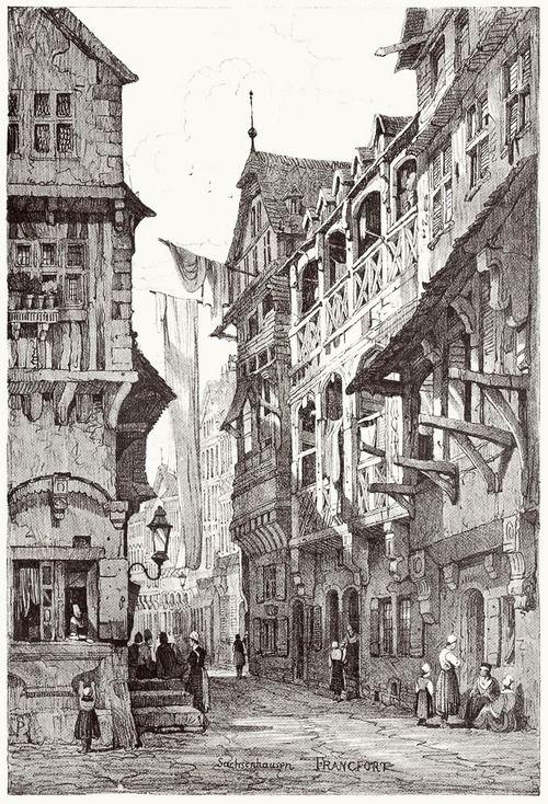 Frankfurt. Samuel ProutLondon, 1915. Via Superkeeg